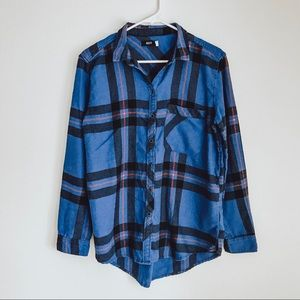 BDG Urban Ouutfitters Plaid Flannel Button Down